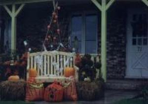 Concours d'halloween 1999 chez Jeanne et Réjeanne Boisvert Prise par Inconnu