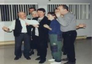 Party de noël 1999 à St-Apollinaire Prise par Inconnu