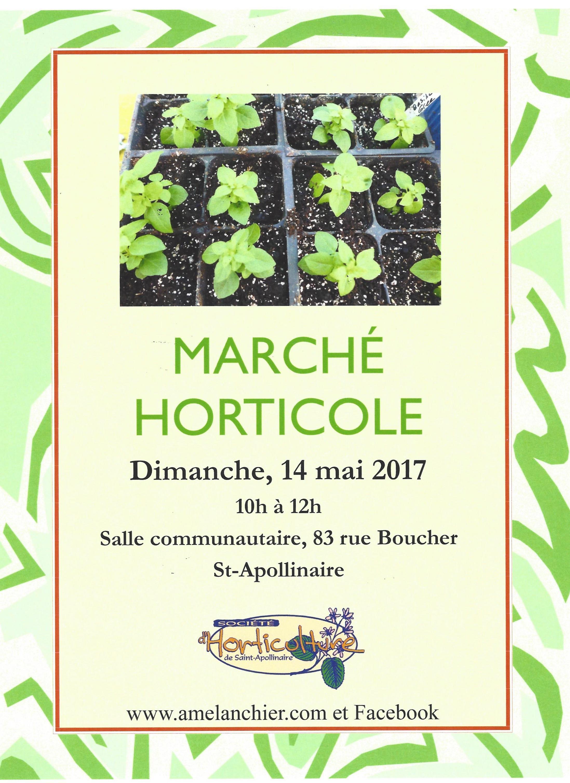 March horticole 14 mai 2017 l 39 am lanchier site de la for Site de vente de plantes