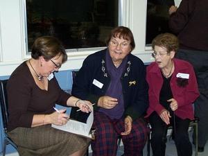 Une équipe toute féminine!   Noël 2005 Prise par Nancy Ross