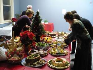 Enfin l'heure du lunch!Noël 2007 Prise par Nicole Sanschagrin