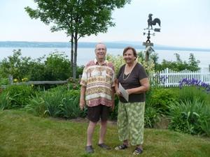 Jardin de Guy et Julie Prise par Un membre de la société d'horticulture