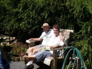Jardin de Yves et Françoise Prise par Un membre de la société d'horticulture