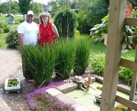 Jardin de Carole et Pierre Prise par Un membre de la société d'horticulture