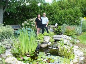 Jardin de Huguette et Julien Prise par Un membre de la société d'horticulture