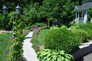 Jardin de Laurette et Jean-Marie Prise par Un membre de la société d'horticulture