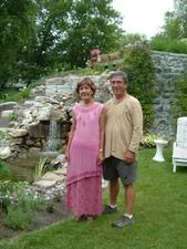Jardin de Lucille et Michel Prise par Un membre de la société d'horticulture