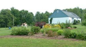 Jardin de Nicole et Michel Prise par Un membre de la société d'horticulture