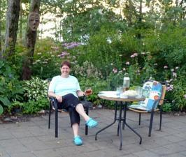 Jardin de Nancy Ross Prise par Nicole Sanschagrin