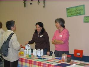 Atelier de produits nettoyants écologiques   Fête des semences 2008    Prise par Claude Bergeron