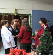 Rencontres agréables  Fête de Noël 2007 Prise par Claude Bergeron