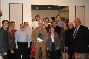 La Société d'horticulture de St-Apollinaire a été nommée l'organisme bénévole de l'année en 2008. Prise par Municipalité de St-Apollinaire