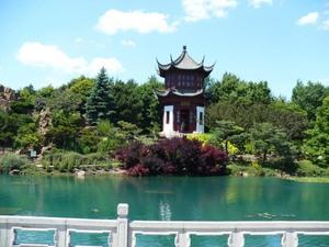 Visite au Jardin botanique de Montréal   Juillet 2008  - L'extraordinaire jardin chinois! -  Prise par Nicole Sanschagrin