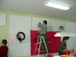 Fête de Noël 2008 : Une belle équipe de décorateurs/décoratrices   Prise par Nicole Sanschagrin