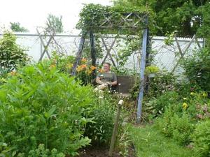 Jardin de Suzanne Jolin Prise par Nicole Sanschagrin