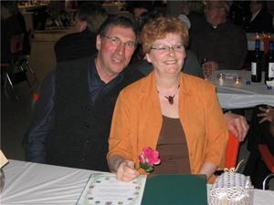 Lise Gagnon, bénévole de l'année 2009  et son conjoint Marcel Prise par René Harvey