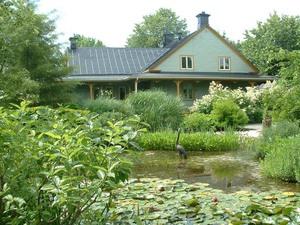 Voyage 2009  Jardin des curiosités à St-Ours - Un très joli jardin d'eau -  Prise par Jean-Pierre Sabourin