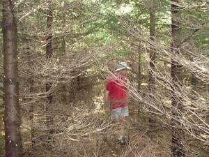 L'équipe no  3« LA PÉDALE DOUCE » - Hugues semble un peu perdu dans ce labyrinthe  -  Prise par Martin Gosselin