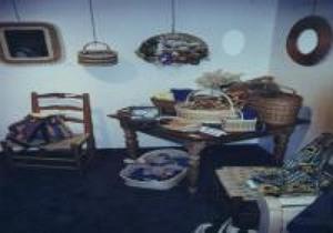 Exposition de talents locaux à la bibliothèque municipale de St-Apollinaire en avril 1999 Prise par Inconnu