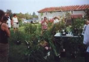 Échange de 2001 chez Alain Gosselin et Nicole Sanschagrin à St-Apollinaire. Prise par Inconnu