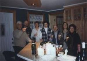 Le conseil d'administration de 1997 : Robert G., Yves B., Carole P., Louise B., Jean-Guy P., Maryse N. et C. D. Prise par Inconnu