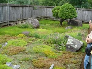 Les Jardins du Grand Portage à St-Didace; un coin de fines herbes Prise par Nicole Sanschagrin