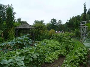 Les Jardins du Grand Portage à St-Didace; encore des merveilles! Prise par Nicole Sanschagrin