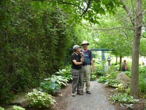 Les Jardins Osiris à St Thomas de Joliette; un beau coin pour les amoureux! Prise par Nicole Sanschagrin