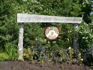 Les Jardins  « Hilldylliques »  à Pont Rouge Prise par Nicole Sanschagrin