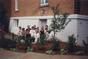 Un de nos nombreux projets d'embellissement du village Prise par Un membre de la société d'horticulture