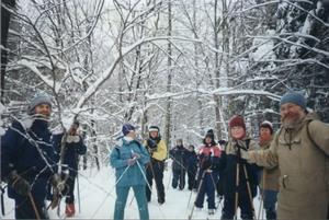 Randonnée de ski de fond Prise par Un membre de la société d'horticulture