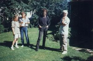 Visite chez Danielle Boucher et Daniel Le Gallic à St-Antoine-de-Tilly en août 1997. Prise par Inconnu