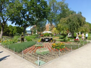 10 SHSA, Mosaicultures, Au jardin